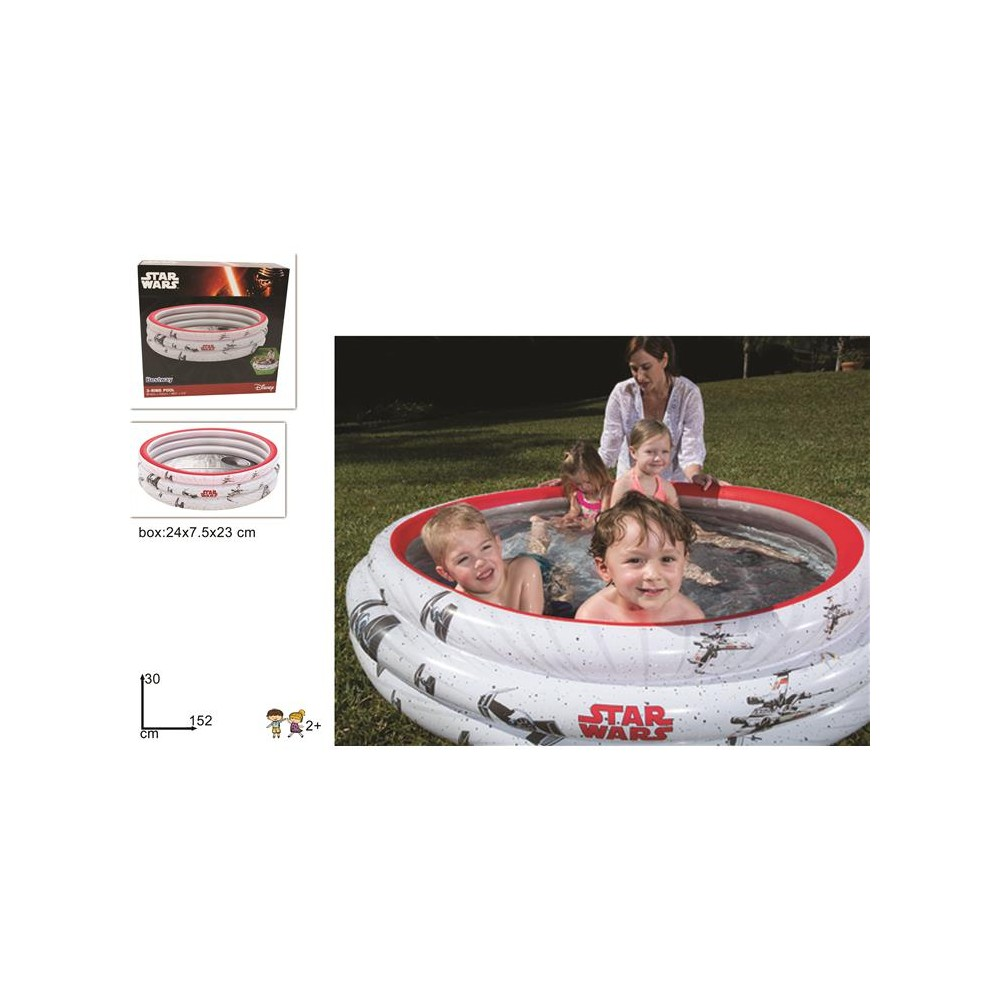 PISCINA STAR WARS 3 ANELLI 1,52M91209@