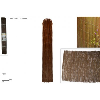 ARELLA LEGNO 150CM X 300CM  (BLACK FERN SCREEN)@